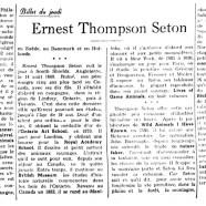 «Ernest Thompson Seton»