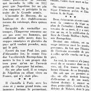 «Mme de Ségur ou Sophie née Rostopchine»