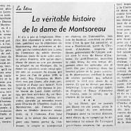«La véritable histoire de la dame de Montsoreau»