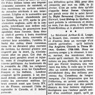 «Le Révérend Arthur-E.-E. Legge et la petite histoire trifluvienne»