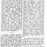 «Roosevelt et De Gaulle à Casablanca»