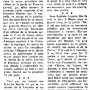 «Le grand-père de Maurice Barrès»
