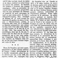 «Un méconnu et un oublié : le comte Henri de Puyjalon»