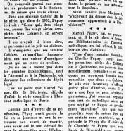 «Charles Péguy et ses cahiers de la quinzaine»