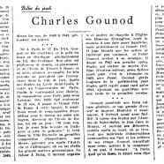 «Charles Gounod»