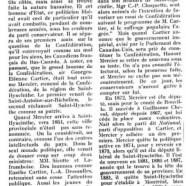 «Honoré Mercier à Saint-Hyacinthe»