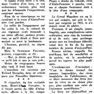 """«Le cinquantenaire du """"Grand Meaulnes""""»"""