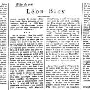 «Léon Bloy»