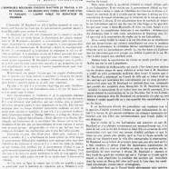 «Situation du travail à Saint-Hyacinthe»