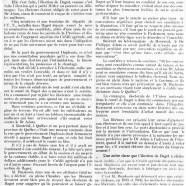 «L'élection de Bagot»