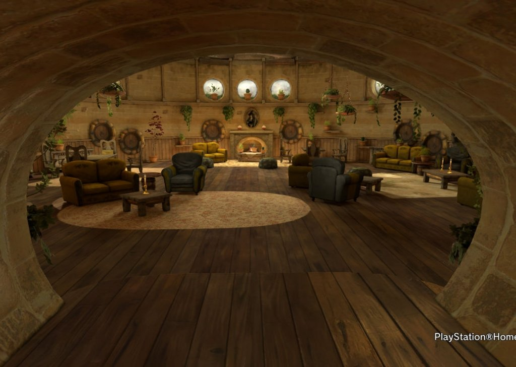 A Rainy Evening in the Hufflepuff Common Room modified