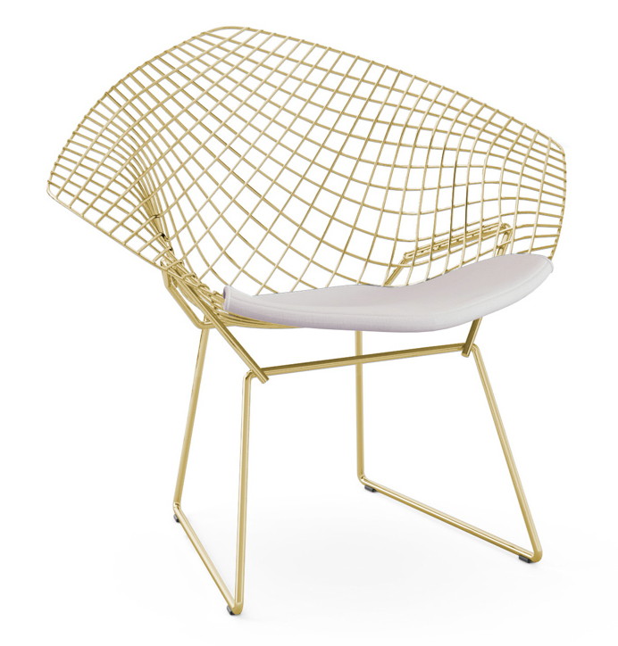how are chairs made rocking chair swing baby harry bertoia furniture foundation in the 1950s when most were of rigid wood line with welded wire and a springy feel totally innovative