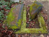 Desecrated graves...