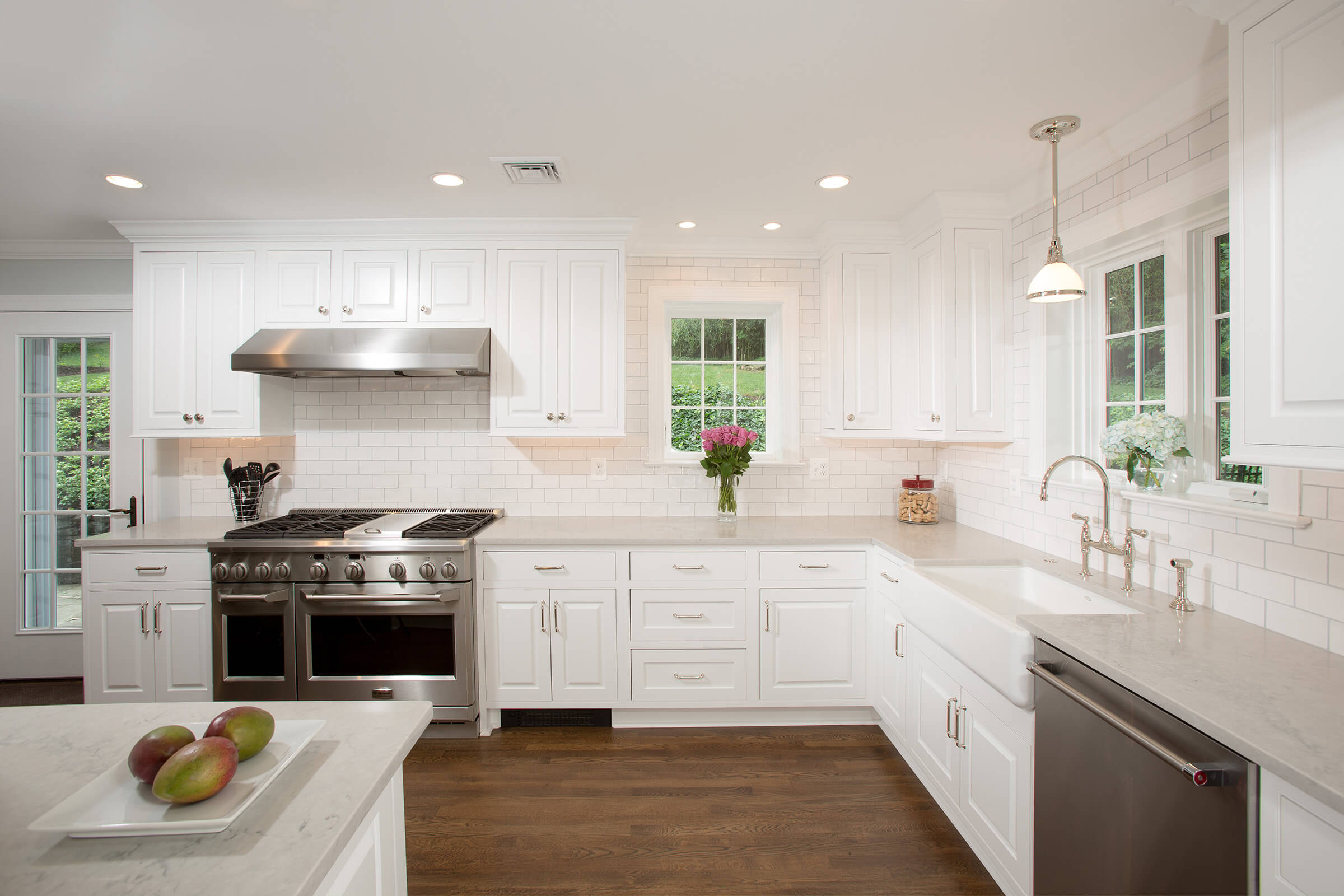 renovated kitchen delta faucet parts diagram renovation opens first floor of 1930s belle haven home