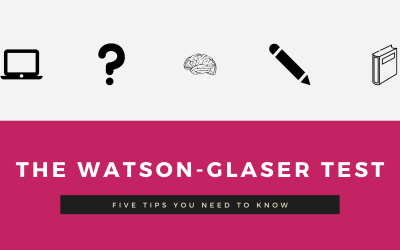 How To: The Watson-Glaser Test
