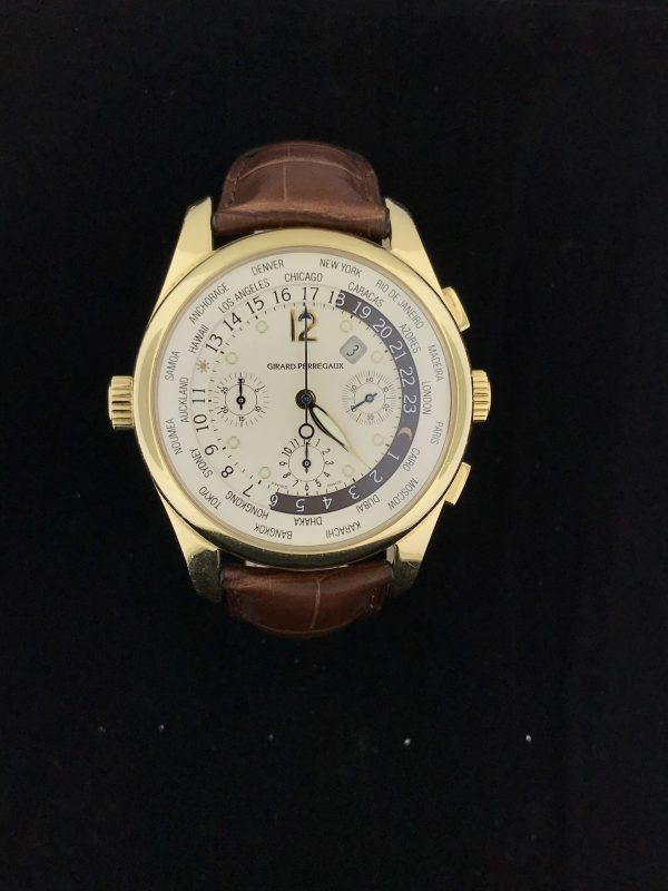 Harry Glinberg Watches - Girard-Perregaux World Time