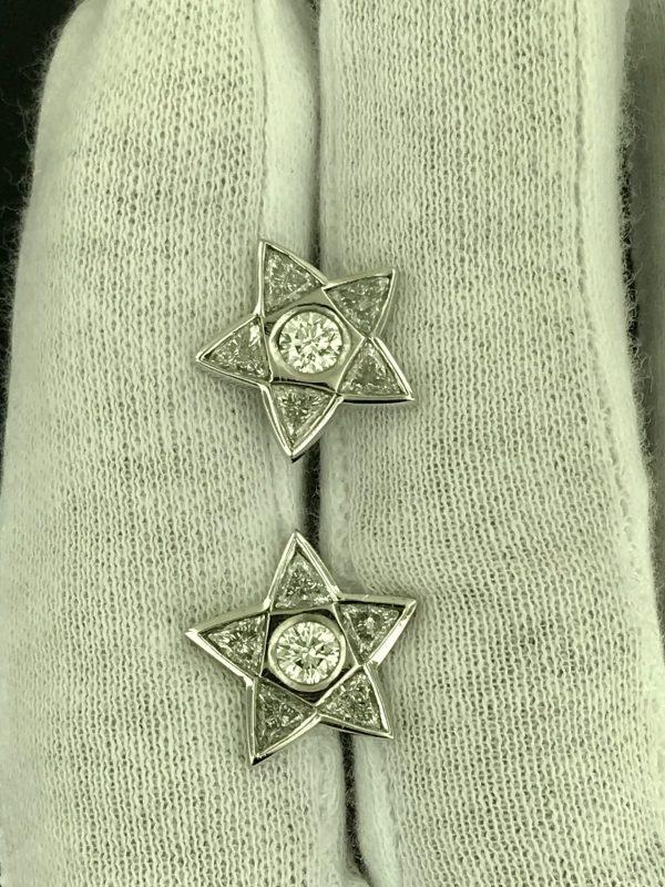 Harry Glinberg Jewelers - Diamond Star Earrings