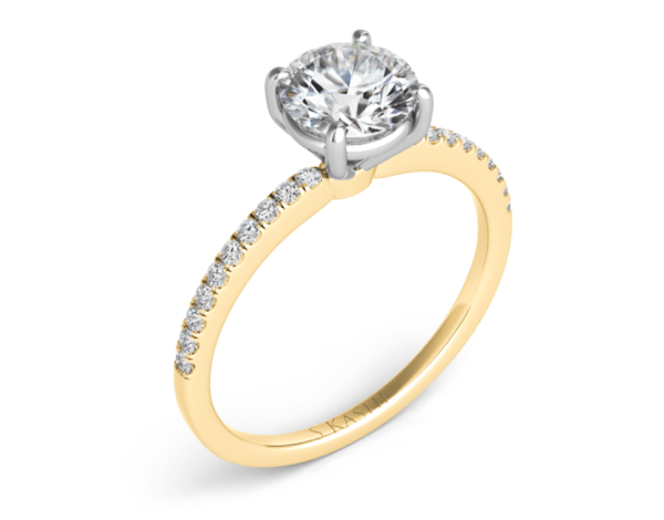 Harry Glinberg Jewelers - YELLOW GOLD ENGAGEMENT RING