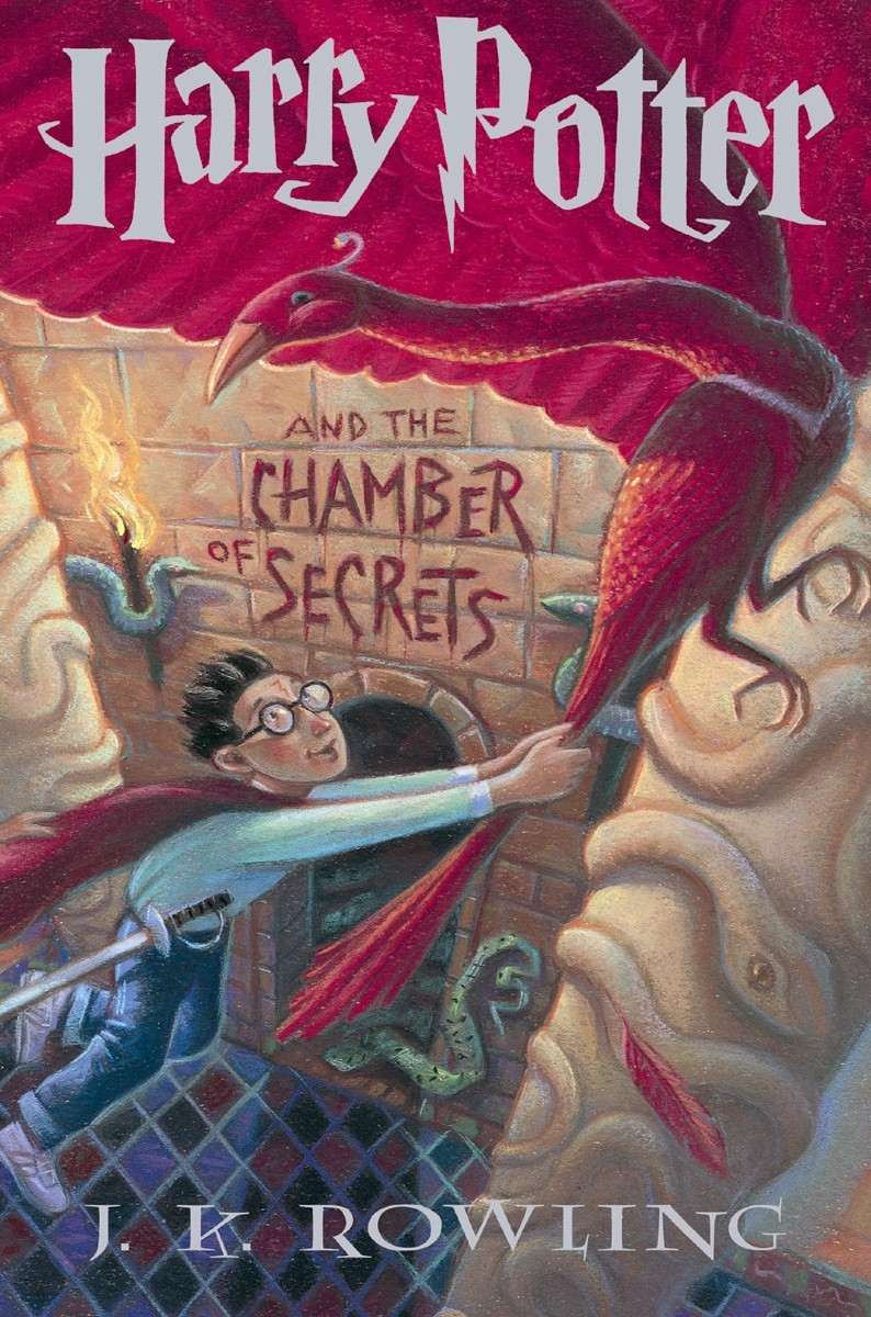 Image result for harry potter chamber us cover