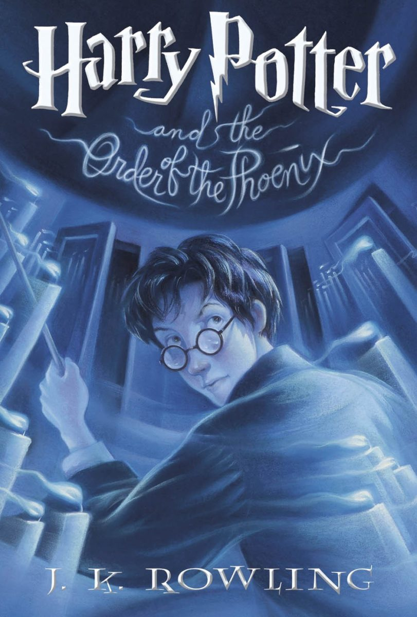 Image result for order of the phoenix book cover