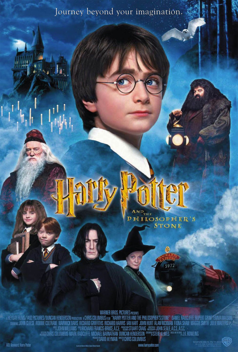 Image result for harry potter and the sorcerer's stone poster