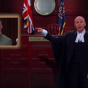 Judge Rinder Pie Eater