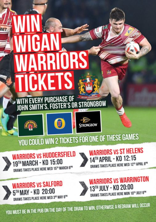 Win Wigan Tickets