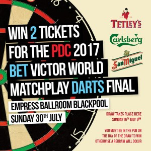 Win PDC Tickets
