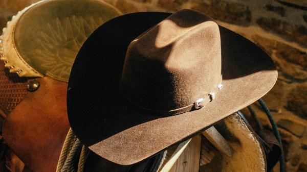 b6bd34c44 Master Hatters Men Black Ty 3x Wool Felt Cowboy Hat - imgUrl