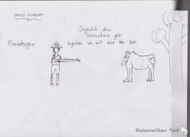 Jagalah dan lestarikan yaki - by Otniel Lumenta