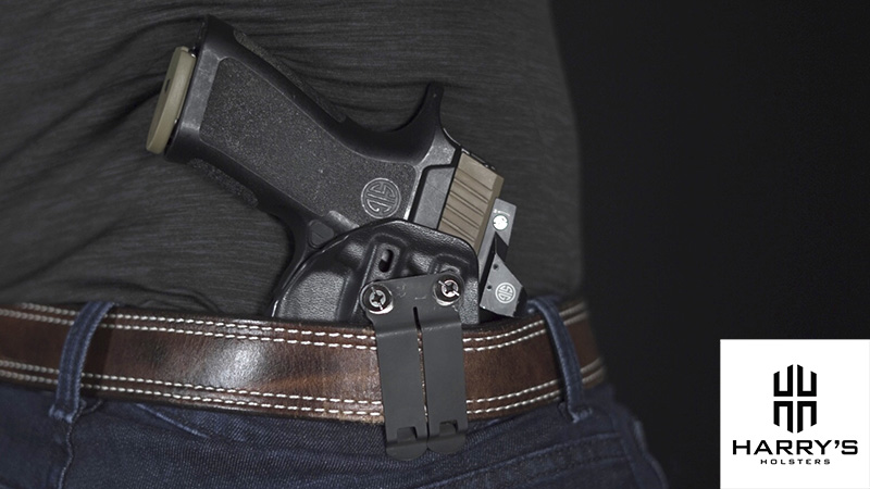 Sig P320 X Carry Holster IWB 11