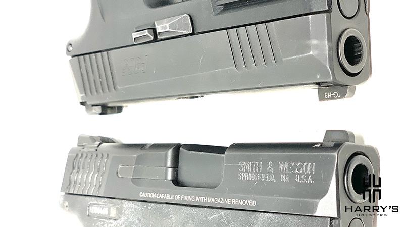 Sig P365 vs SW Shield slides