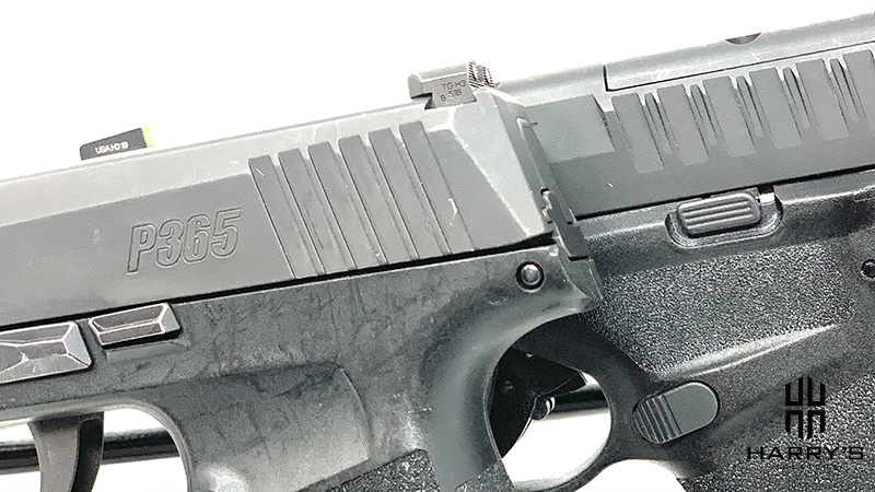 Sig P365 vs Springfield Hellcat controls
