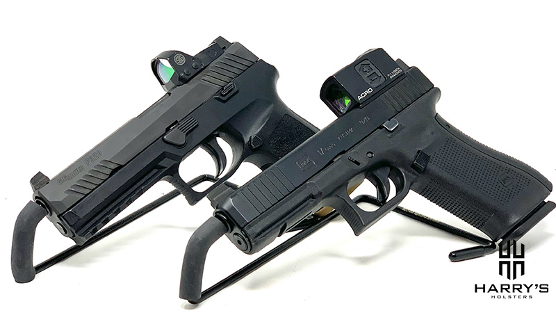 Glock 17 vs Sig P320 side by side