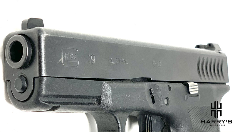 Glock 19 vs Glock 43 19 slide