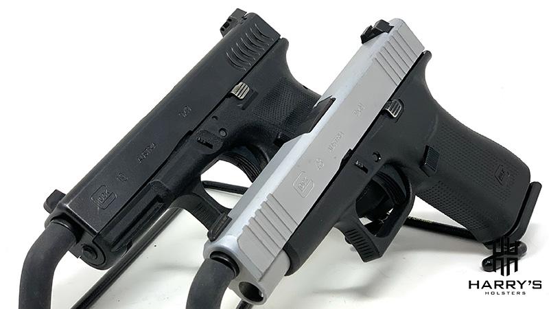 Glock 19 vs Glock 48 side by side