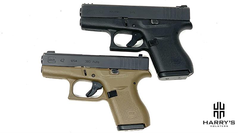 Glock 42 vs Glock 43 top