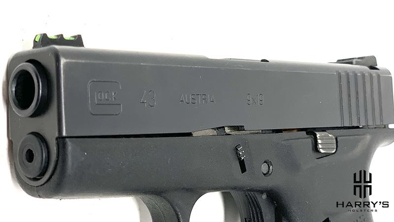 Glock 43 vs Glock 43x 43 slide