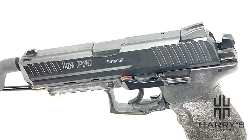 HK P30 Disassembly