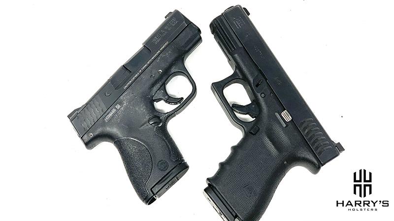 Glock 19 vs SW Shield X