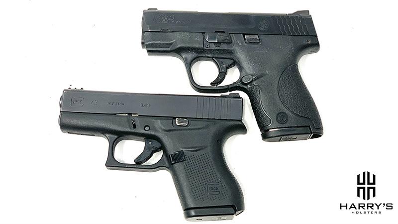 Glock 43 vs SW Shield top