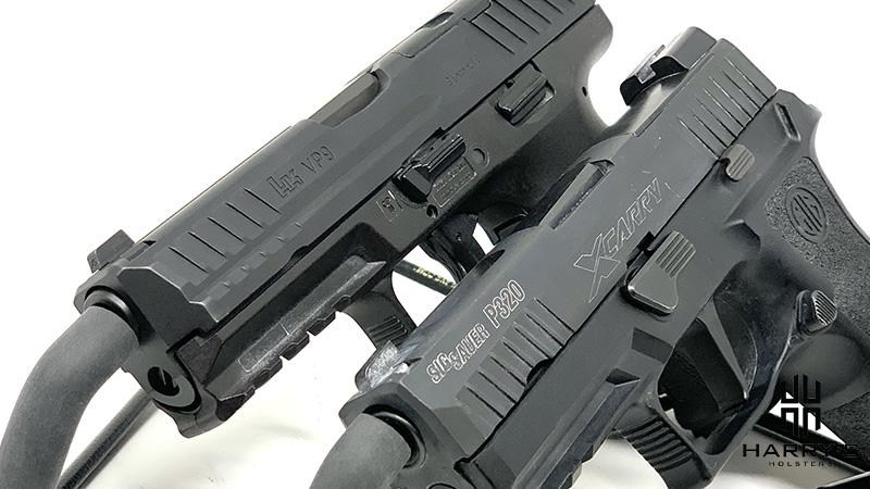 HK VP9 vs Sig P320 X Carry slide