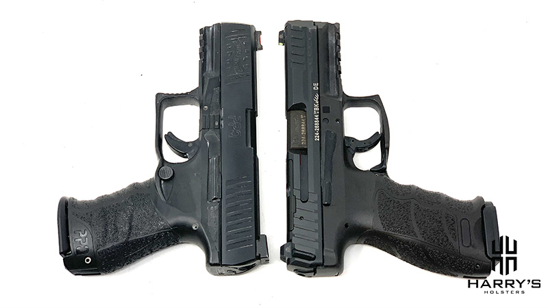 HK VP9 vs Walther PPQ T