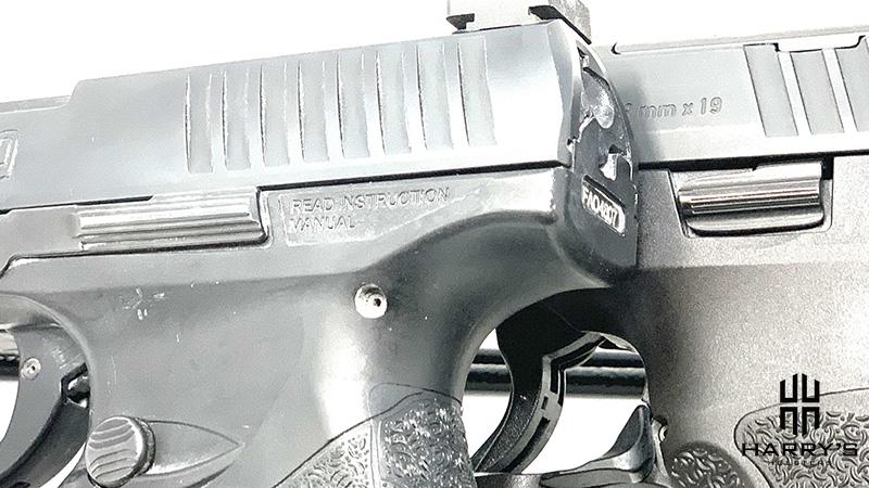 HK VP9 vs Walther PPQ controls