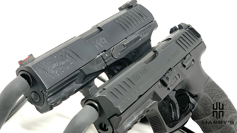 HK VP9 vs Walther PPQ side by side