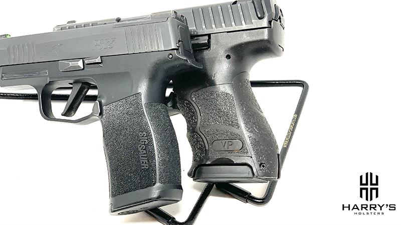 HK VP9SK vs Sig P365XL Grips