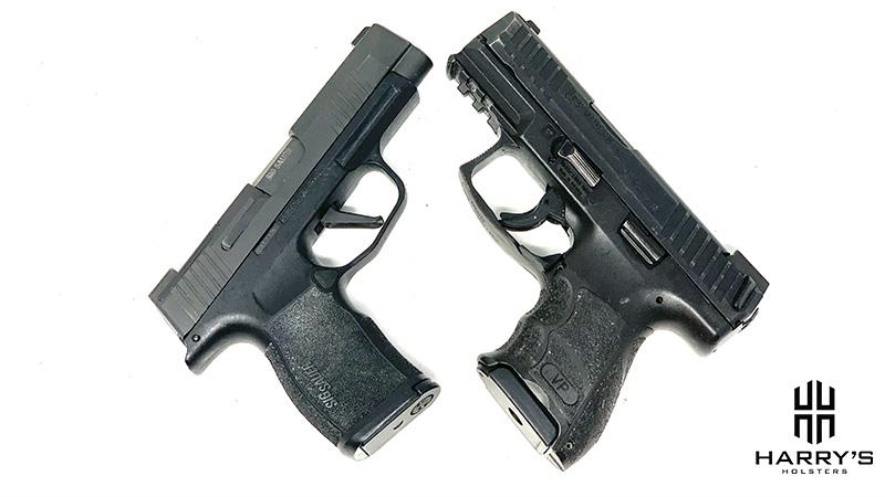 HK VP9SK vs Sig P365XL X