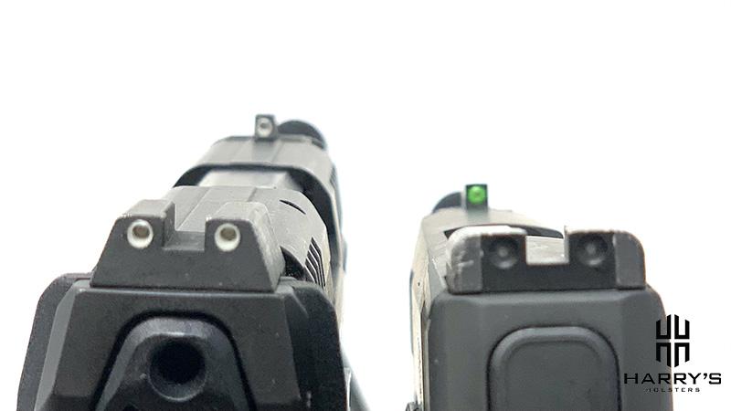 HK VP9SK vs Sig P365XL sights