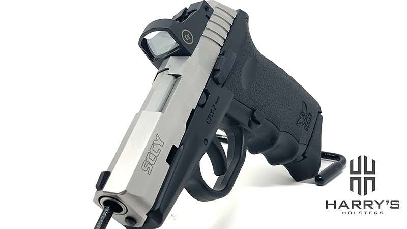 Sccy CPX2 Red Dot left front