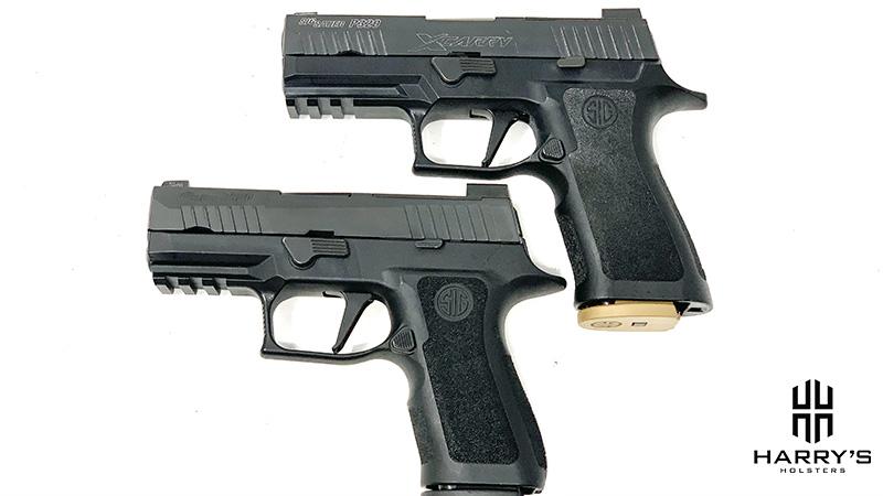 Sig P320 X Carry vs Sig P320 X Compact top